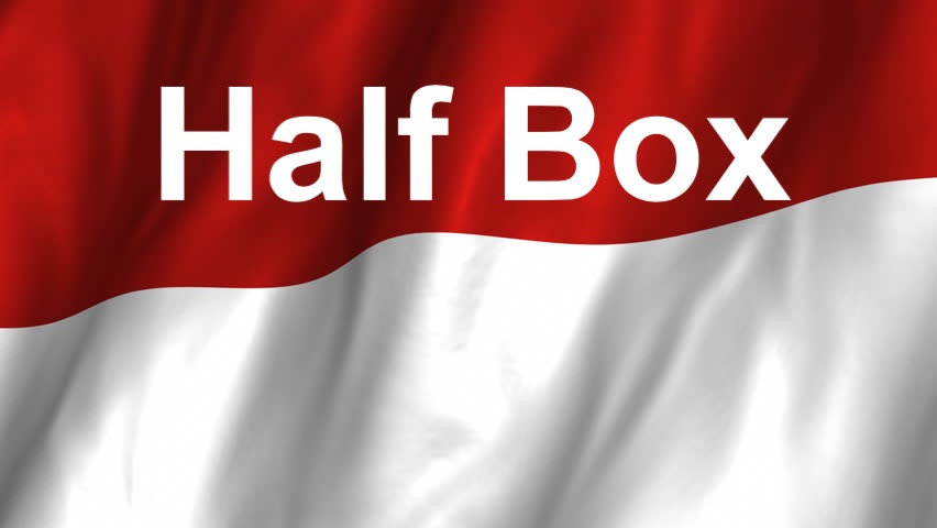 Half a box 1x18 inch 50 cm Bag from Indonesia