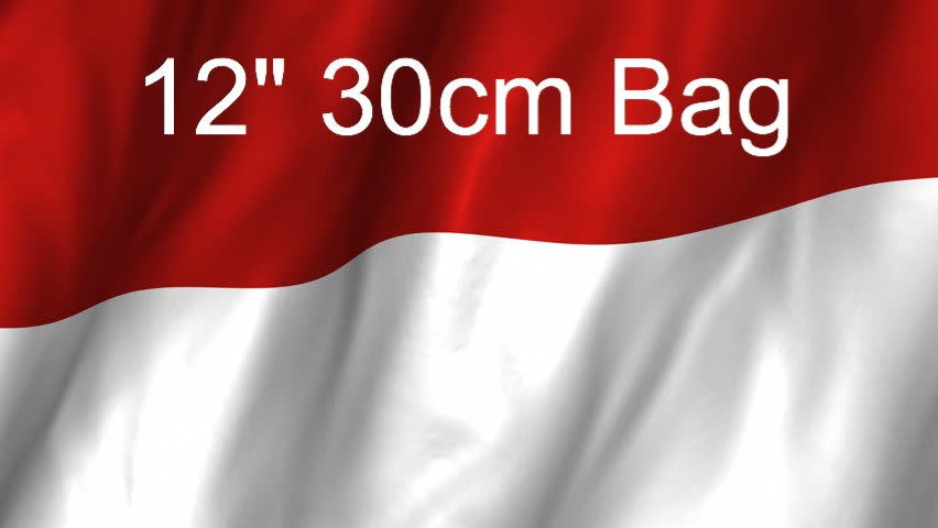 12 inch 30 cm Bag from Indonesia