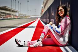 Racing Driver Tatiana Calderòn