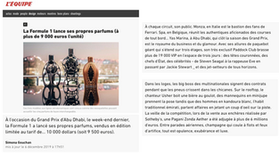 L'Equipe | Ferg & Friends Public Relations | F1 Fragrances