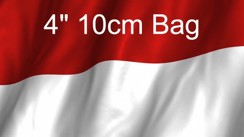 4 inch 10cm Bag from Indonesia