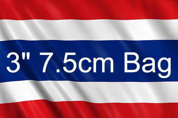 3inch 7.5cm bag from Thailand