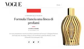 Vogue Italia | Ferg & Friends Public Relations | F1 Fragrances