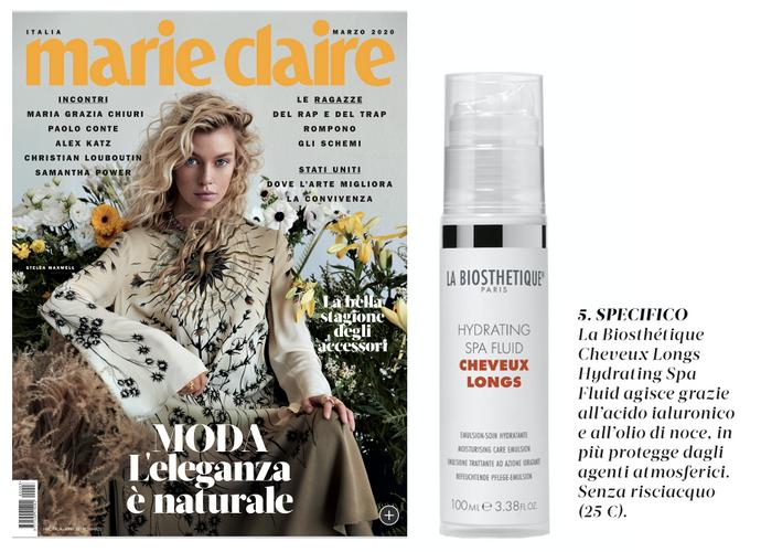 Marie Claire 3 | Ferg & Friends Public Relations | La Biosthétique