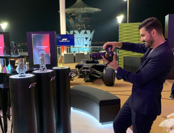 Abu Dhabi Grand Prix: F1 Fragrance launch