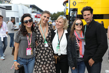A tour with journalists & influencers in the F1 Paddock