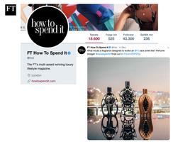 HTSI Twitter | Ferg & Friends Public Relations | F1 Fragrances