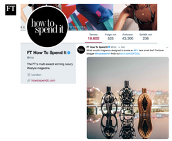HTSI Twitter | Ferg & Friends Public Relations | F1 Fragrances