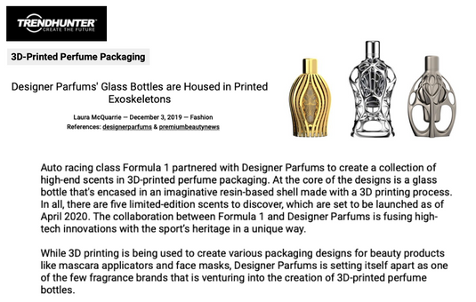 Trendhunter | Ferg & Friends Public Relations | F1 Fragrances