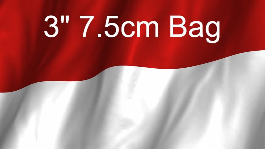 3 inch 7.5cm Bag from Indonesia