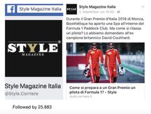 Style Magazine Facebook
