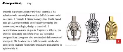 Esquire | Ferg & Friends Public Relations | F1 Fragrances