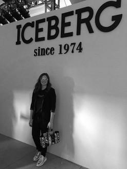 Tatiana Calderón at the Iceberg Fashion Show during Milan Fashion Week