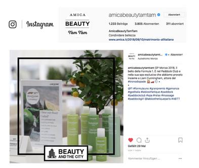 Amica Beauty Tam Tam Instagram