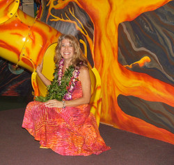 Jana in Lava Tube Opening Day