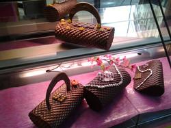 Création haute couture en chocolat