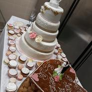 weeding cake et pièce montée