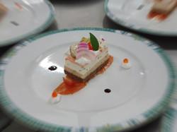 Assiette opéra de saumon