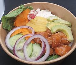 poke bowl au saumon_Béziers
