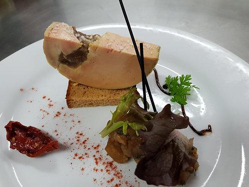 Le foie gras de canard figues et miel au kg