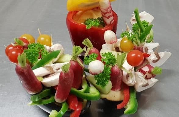 Panier de Légumes croquants
