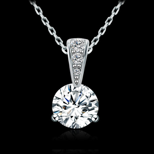 Solitaire pendant necklace nikuma jewellery united kingdom women solitaire pendant necklace aloadofball Images