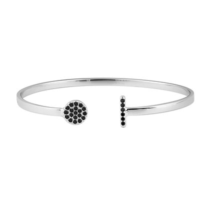 Disc bar bangle