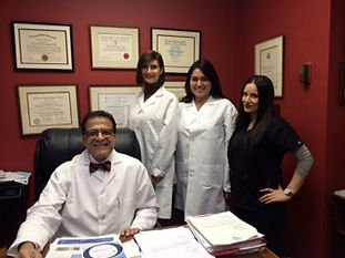 Dr. Momtaheni and His Staff