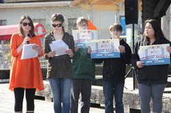 SYLC members speak at Choose Respect