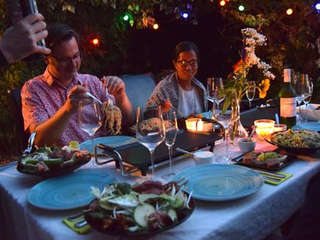 Lekker tafelen met uw bubbel-vrienden of familie in de Oude Abdij?