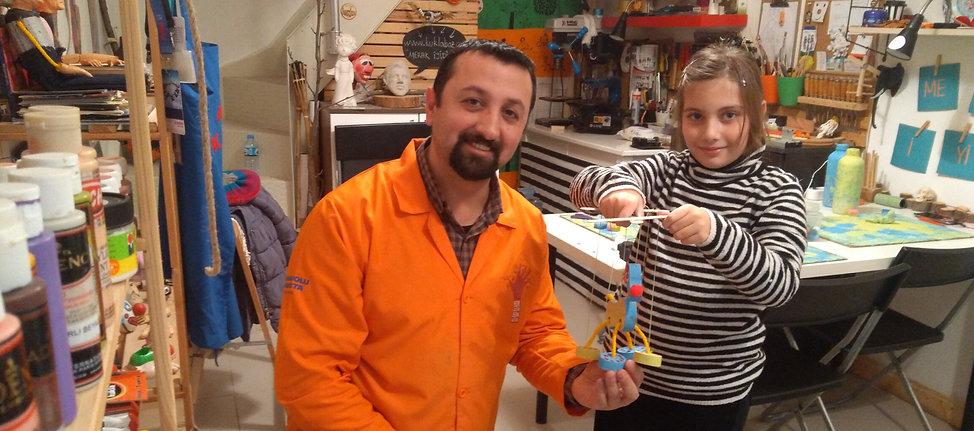 bursa anaokul etkinlik kukla atölyesi ipli kukla el kukla bursa kukla sanat atölyesi