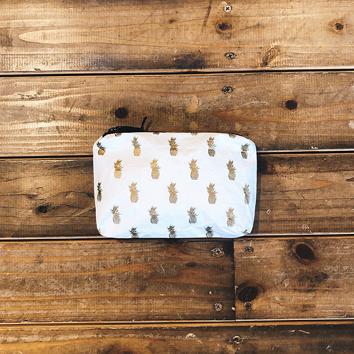ALOHA COLLECTION Pineapple Royale Pouch Mini