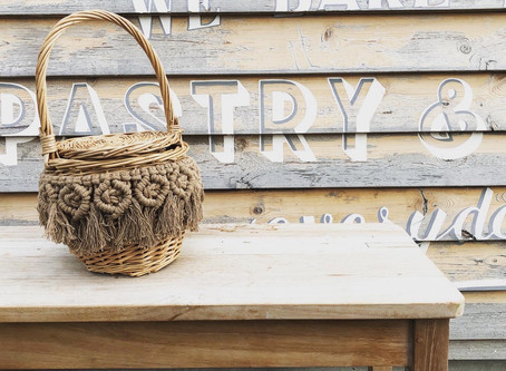 みんなでマクラメ編みカゴバッグを作ろう!【松戸ワークショップ】