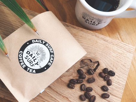 【低カフェイン】デイリーサーフのオリジナルコーヒーを堪能しませんか?
