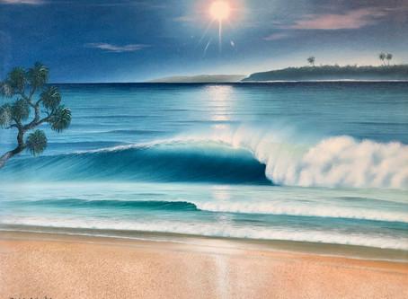 まるで写真!バリ島で大人気の【Goes Windy(ゴース・ウィンディ)】の絵画展 特典付