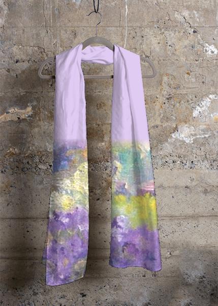 lavendar scarf