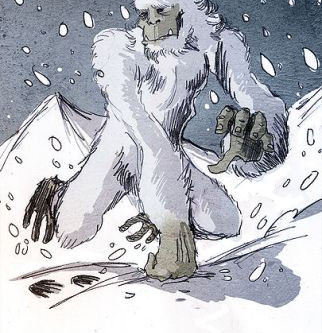 A to Z Y is for Yeti