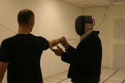 Fencing instructor Tom Martin2014-10-22 17.48.14