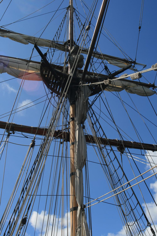 Lady  Washington sails photo Dianne Garner