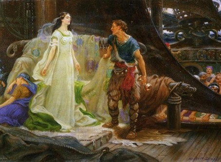 A to Z T is for Tristram, the symbol of a lover's misunderstanding