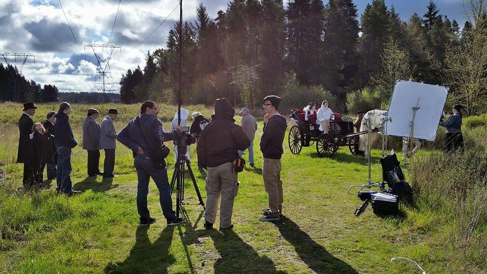 Filming Cassandra's Castle in Rainier
