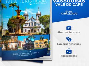 Vassouras lança novo Guia Turístico.
