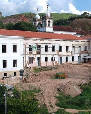 Restauração Casarão Museu da Identidade.