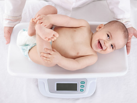 Perda de peso no bebê
