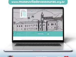 Museu Vila de Vassoura: conheça o site em construção que foca na construção e na montagem do projeto
