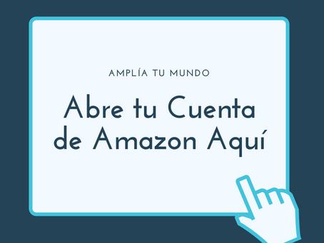 Cómo crear tu cuenta en Amazon