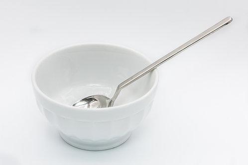 קערית למרק עגולה עם צלעות