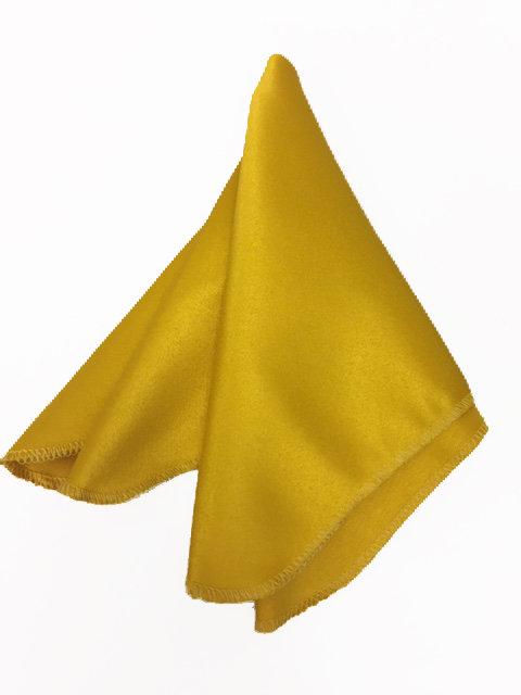 מפית סאטן- צהוב חמנייה
