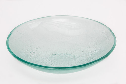 קערת זכוכית עגולה עמוקה