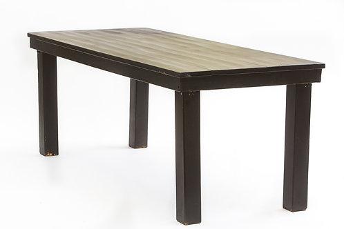 שולחן מזנון בוצ'ר עץ